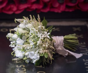 bouquet, flowers, and bridal image