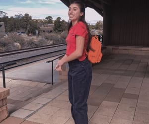 baggy, boyfriend jeans, and girl image