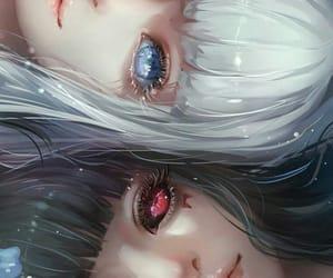 aesthetic, digital, and anime girl image