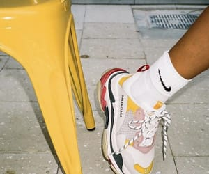 shoes, nike, and Balenciaga image