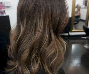 beautiful, brown hair, and girl image