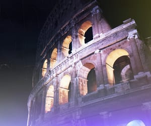 colosseum, holiday, and polaroid image