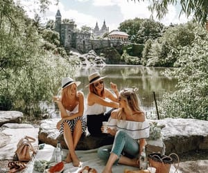 girl, group, and photography image