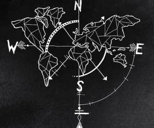 map, world, and drawing image