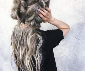 hairstyle, beauty, and girl image