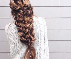 aesthetics, braid, and cold image