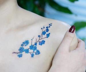 body, body art, and flower image