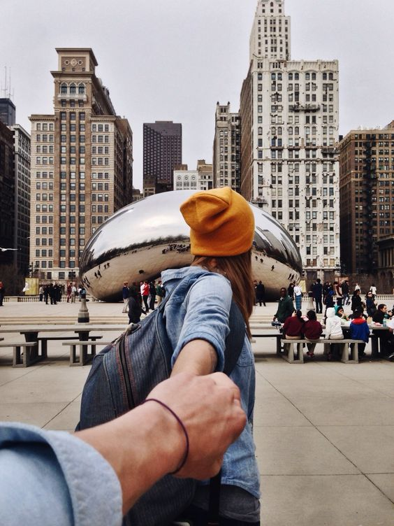 love, couple, and chicago image