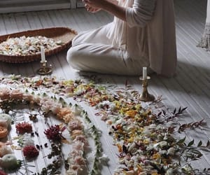 flowers, magic, and ritual image