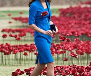 flowers, kate middleton, and duchess of cambridge image