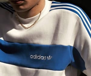 adidas, blue, and boy image