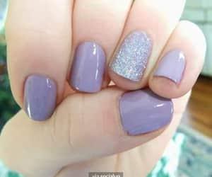 glitter, nailart, and nails image