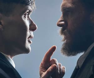 cillian murphy, tom hardy, and peaky blinders image