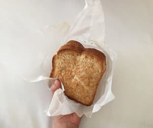 aesthetic, bread, and food image