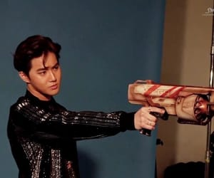 leader, photo shoot, and junmyeon image
