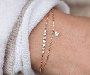 bracelet, chic, and heart image