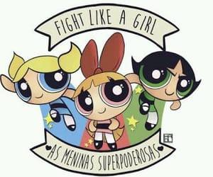 feminism, girl power, and powerpuff girls image