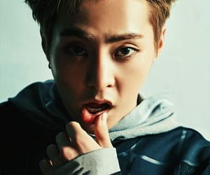 exo, Hot, and kim image