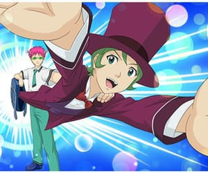 anime, smartphone game, and nendou riki image