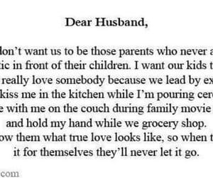 children, husband, and love image