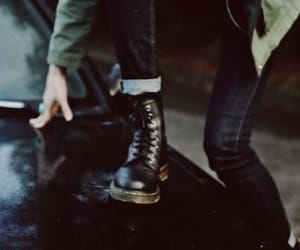 grunge, boots, and style image