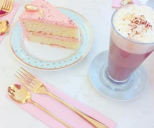 aesthetic, cafe, and cake image