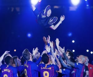 soccer, iniesta, and team image