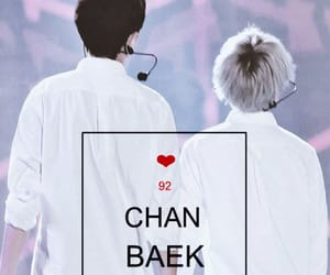 chanbaek, exo, and chanyeol image