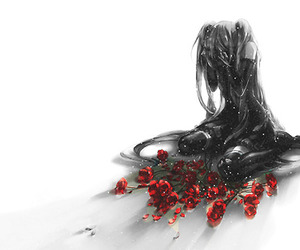vocaloid, anime, and roses image