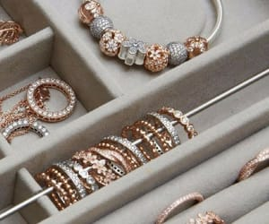 accessories, gold, and rings image
