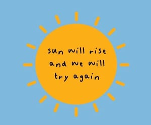 sun, quotes, and wallpaper image
