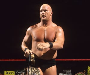 steve austin, stone cold steve austin, and wwe image