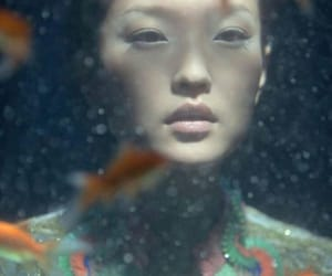 aesthetic, aquarium, and asian girl image