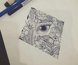 beautiful, drawings, and eye image