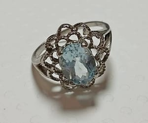 blue, engagement, and pretty image