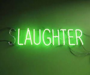 neon, laughter, and red image