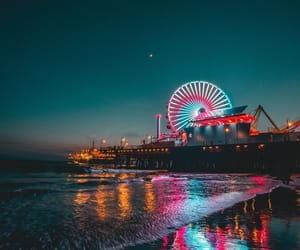 photography, beach, and california image