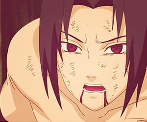 gif, Hot, and uchiha image