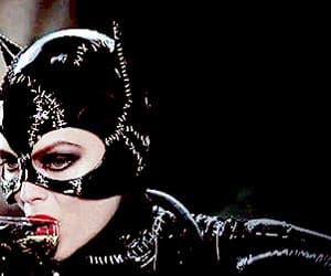 batman, catwoman, and gif image