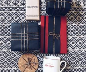 black, chocolate, and gift image