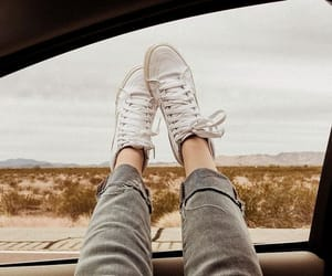 car, shoes, and travel image