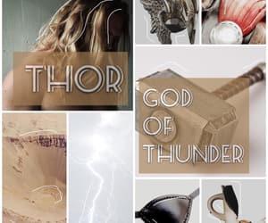 aesthetic, the avengers, and god of thunder image