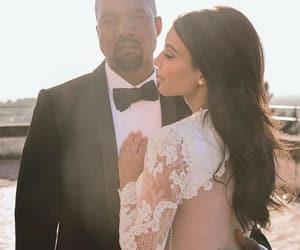 couple, kanye west, and love image