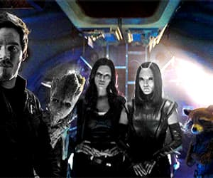 gif, Marvel, and guardians of the galaxy image