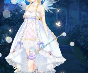 anime, butterfly, and dress up diary image