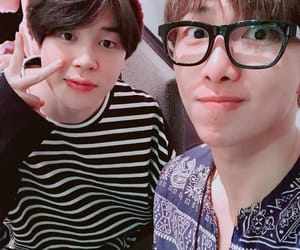 bts, jimin, and rm image