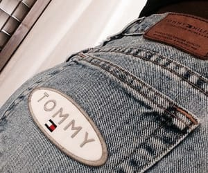 jeans, tommy, and tommy hilfiger image