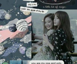 lisa, rose, and wallpaper image