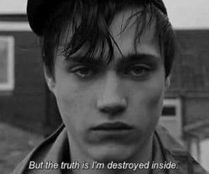 sad, boy, and grunge image