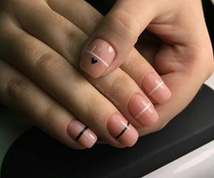 design, minimal, and nail image